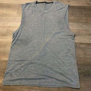 Men's lulu cut off tank